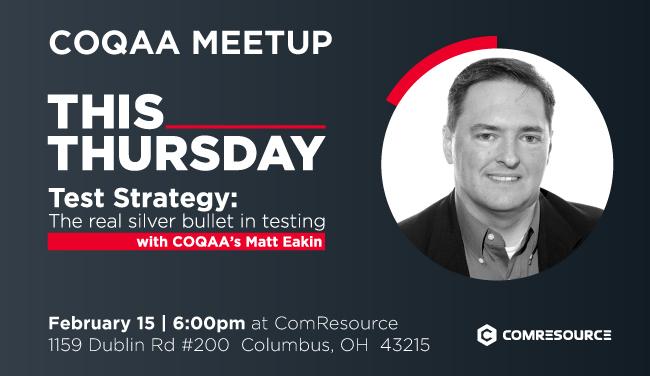 COQAA: Test Strategy