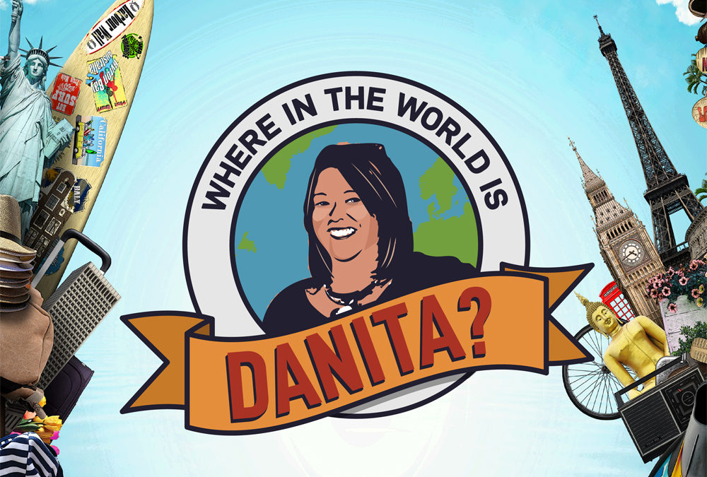 Where in the World is Danita? The Final Spots!