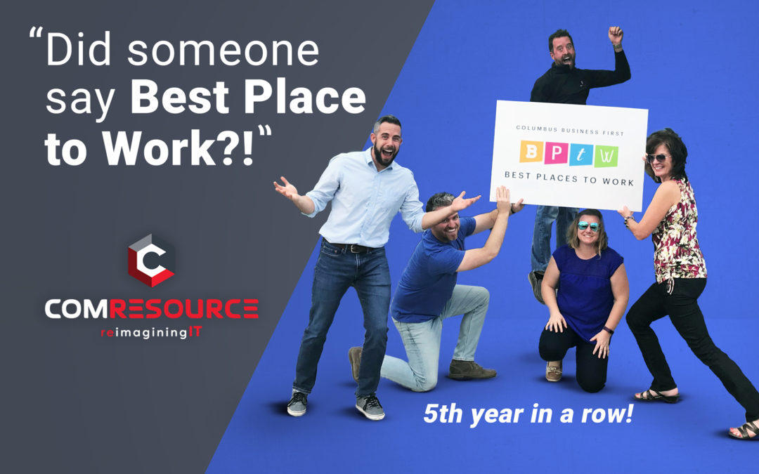 ComResource voted Best Place to Work!